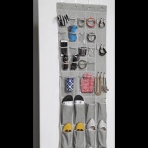 New! Over the door shoe & accessories organizer